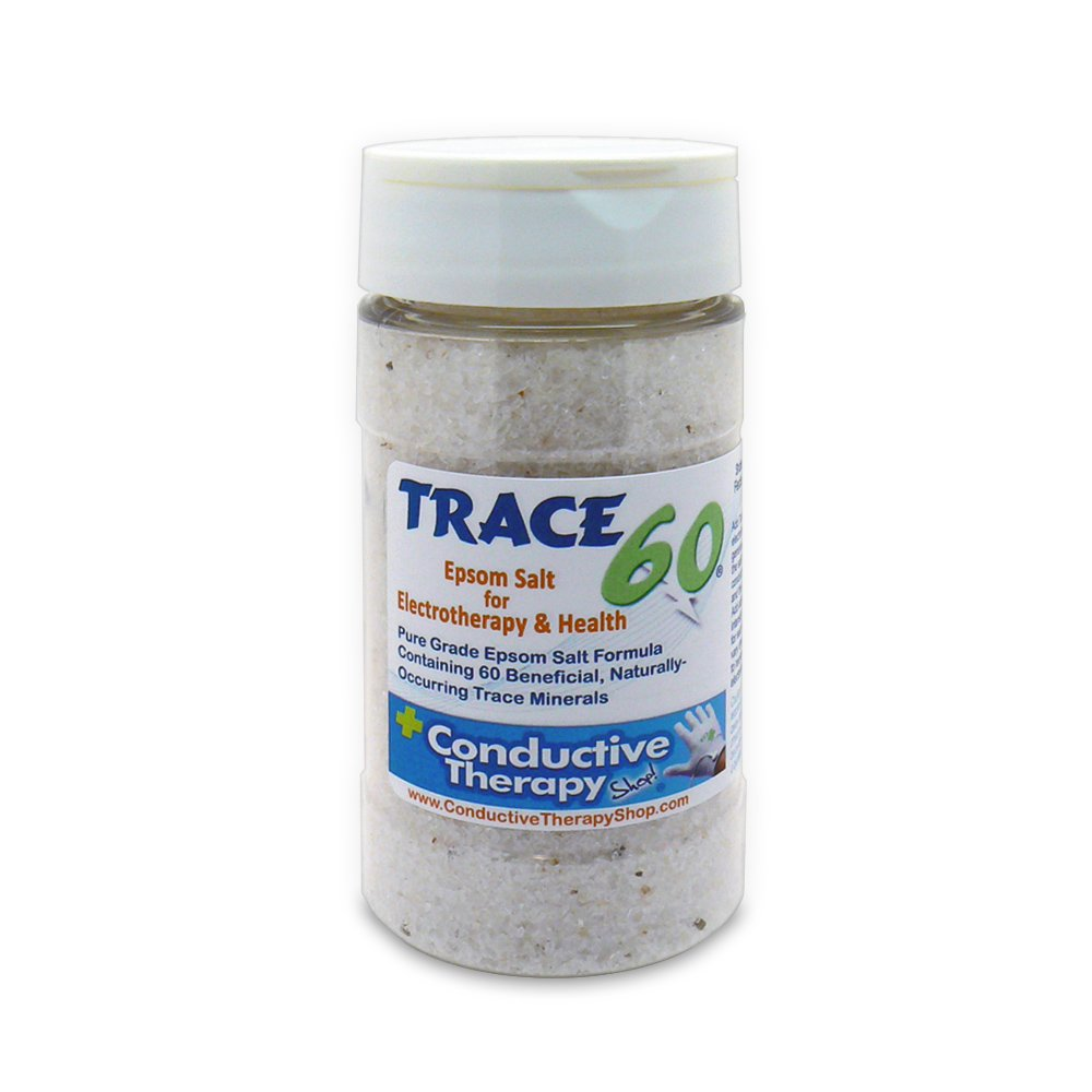 Trace 60 Epsom Salt for Electrotherapy & Health (8 oz)