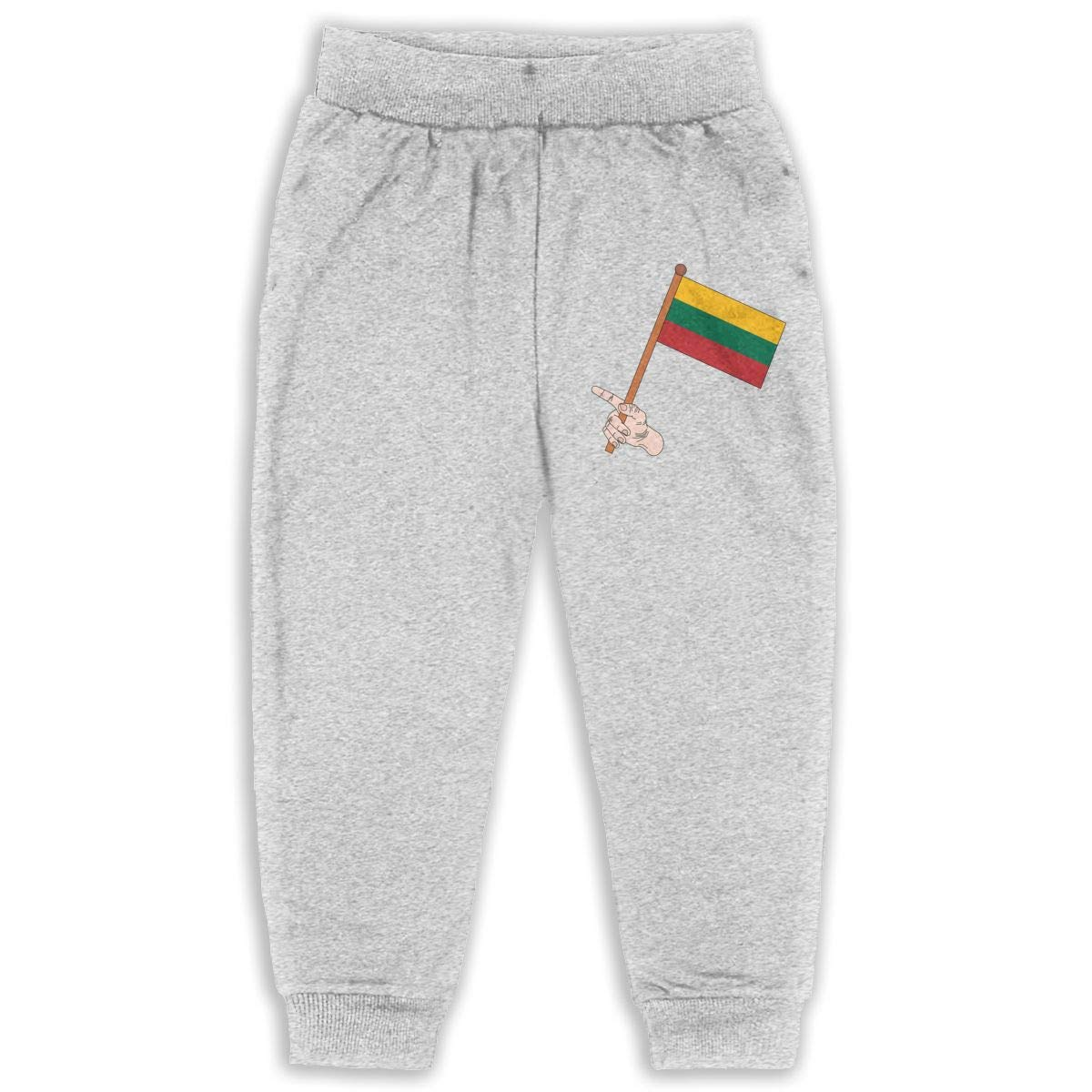 DaXi1 Flag Sweatpants for Boys /& Girls Fleece Active Joggers Elastic Pants