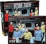 Aquarius Star Trek Original Cast Jigsaw Puzzle, 1000-Piece