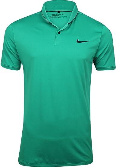 Nike Golf TR Dry Heather rollo polo, Verde (Lucid Green): Amazon ...