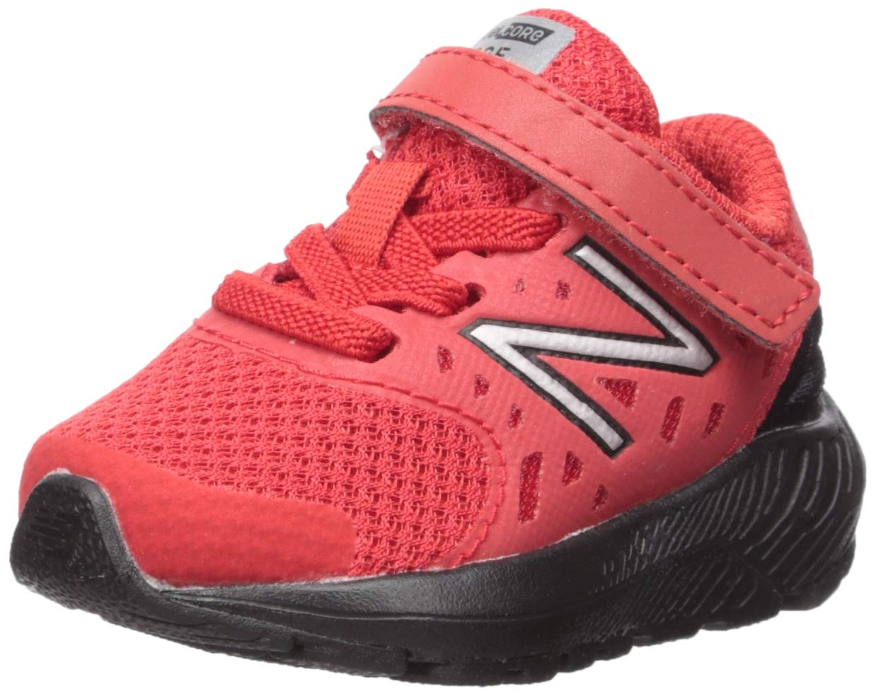 New Balance Boys' Urge V2 FuelCore Running Shoe, Velocity RED/Black, 10 W US Toddler by New Balance