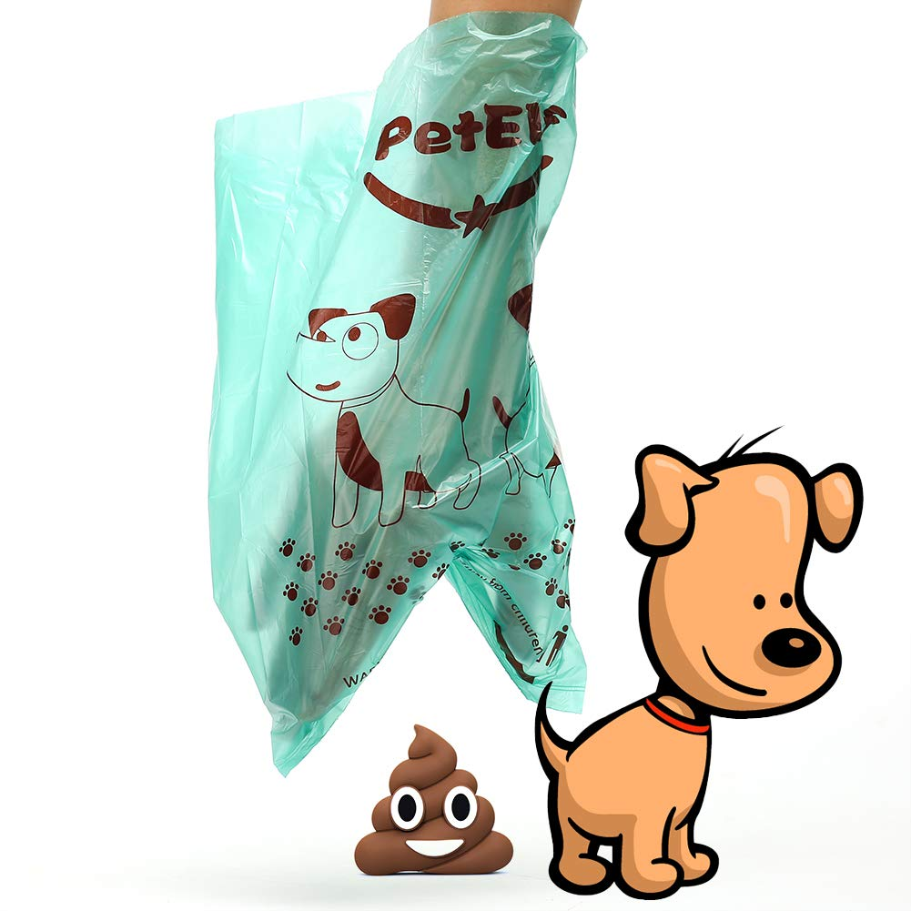 PetElf Dog Poop Bag, Poop Bags for Dogs Unscented Biodegradable Dog Waste Bags, EPI Technology Eco-Friendly, 24 Rolls 360 Count