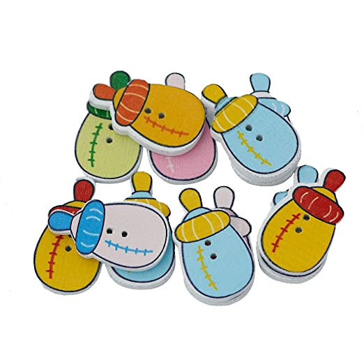 38 opinioni per 100pz Di Alimentazione Bottiglia A Forma Di Dipinti 2 Pulsanti Foro Di Cucito Di