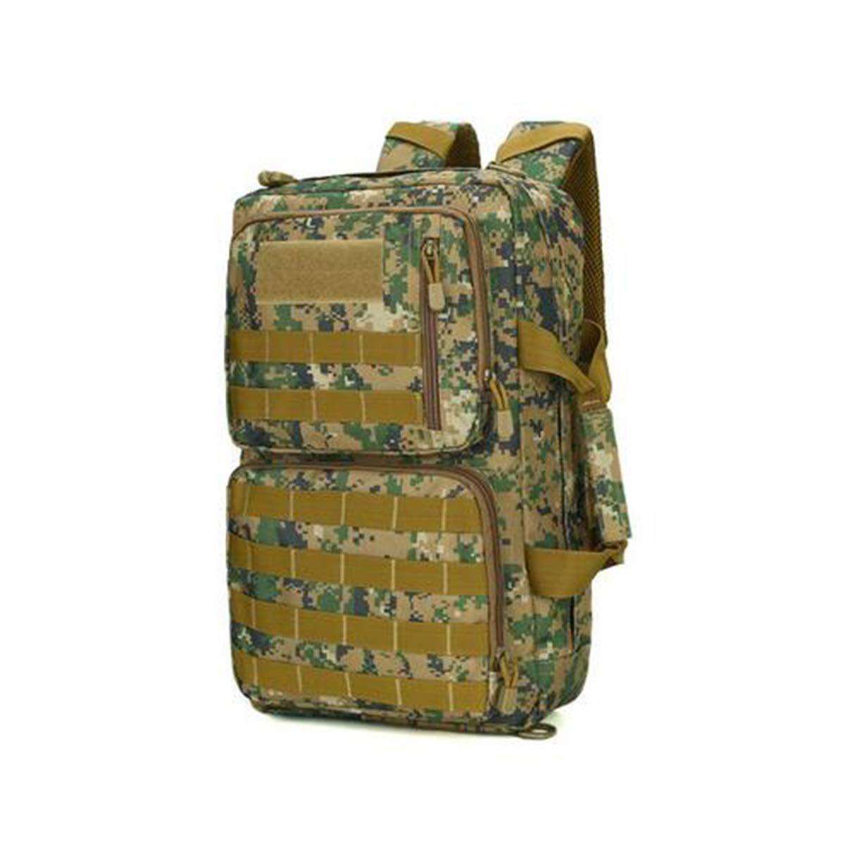 656c4a7e6e Haoyunlai Zaino da campeggio, borsa borsa borsa per computer, borsa da  alpinismo per uomini e donne impermeabili militari camuffamento e5e3ef