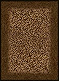 5'3''x7'2'' Safari - Leopard Skin (030-72770) Area Rug