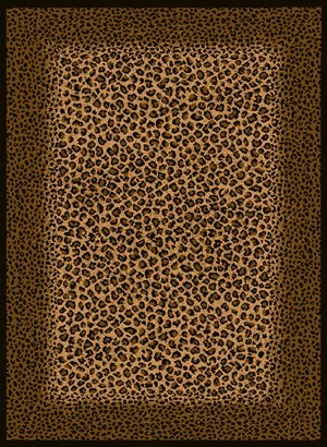 5'3''x7'2'' Safari - Leopard Skin (030-72770) Area Rug by United Weavers of America