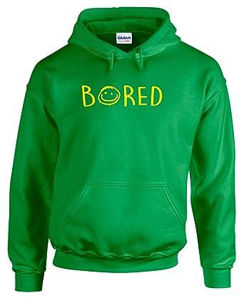 3147397dbed1 Print Wear Clothing Bored, Gedruckt Hoody - Pullover - Grün Gelb M   96