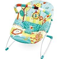 Cadeira De Descanso Musical Leão/Girafa, Mastela, Azul, Médio