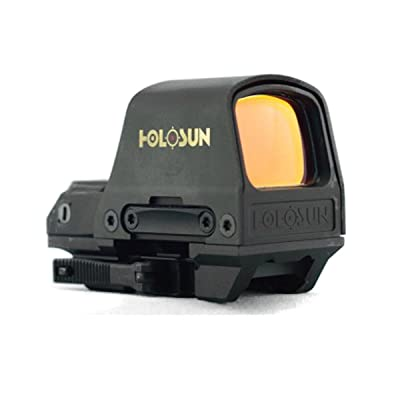 Holosun HS510C 2 MOA Open Reflex Circle Dot Solar Power Holographic Red Dot Sight