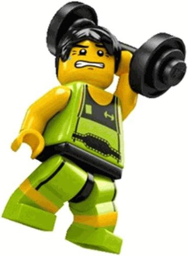 LEGO 8684 Minifigure Series 2 - Weight Lifter (Loose)