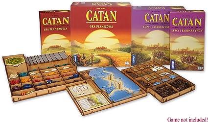 docsmagic.de Organizer Insert for Catan Box - Encarte: Amazon.es: Juguetes y juegos