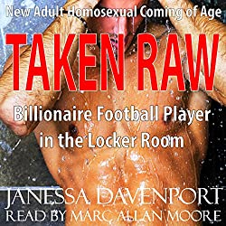Taken Raw: First Time Gay for the Billionaire Football Player in the Locker Room