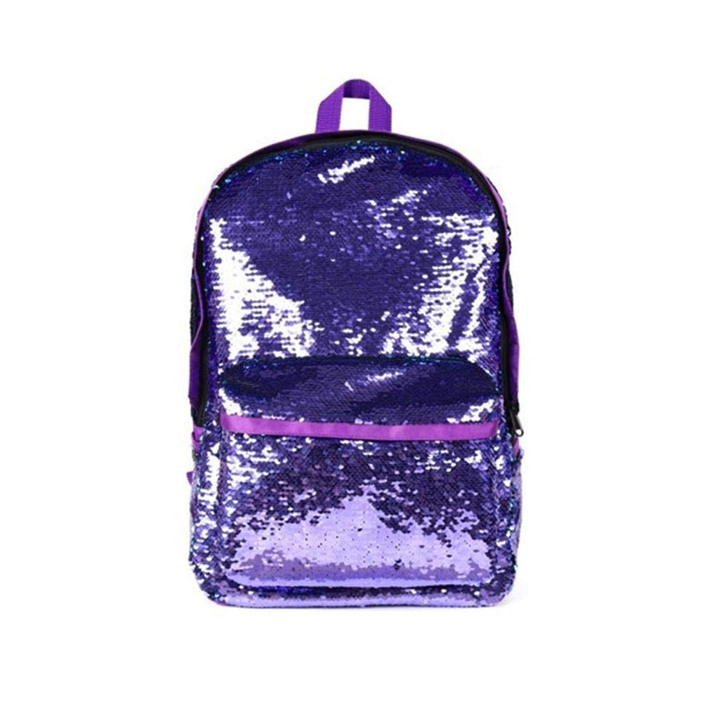 Amazon.com: Aolvo Mermaid Sequin Backpack,Magic Sequin Backpack with Large Capacity,Fashinable and Special Book Bag School Backpack Shoulder Bags for ...