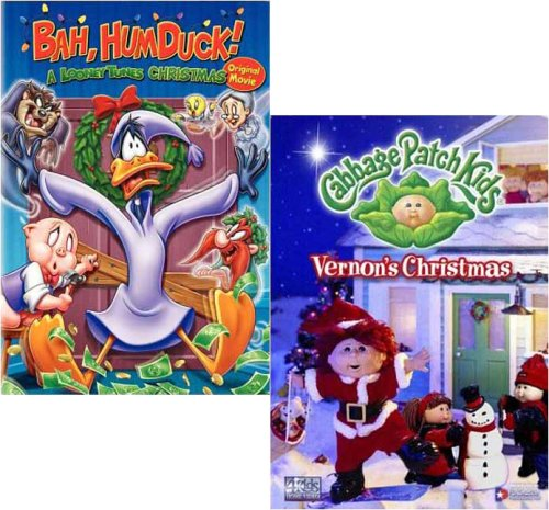 Bah, Humduck! A Looney Tunes Christmas/Cabbage Patch Kids - Vernon's Christmas (2 pack) (Christmas Humduck A Looney Bah)