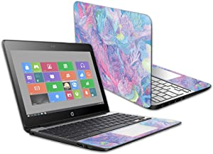 """MightySkins Glossy Glitter Skin for HP Chromebook 11 G5 11.6"""" - Dreamy Reef 