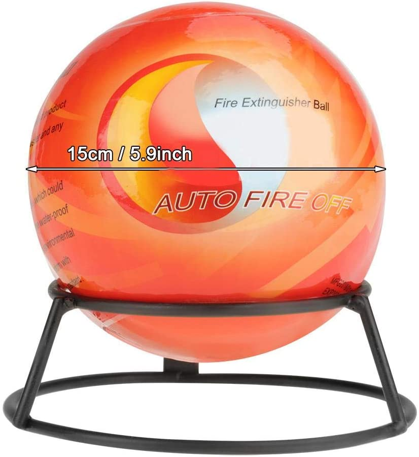 Fire Extinguisher Throw Ball #2 Fire Extinguisher Ball Easy Throw Stop Fire Loss Tool Safety