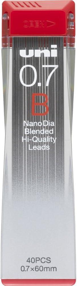 2B Nano Dia Uni Mechanical Pencil Lead 0.7mm U07202ND2B