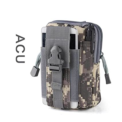 dac04977bdfb Tactical Waist Pack Belt Bag Camping Hiking Outdoor Military Molle Pouch  Wallet