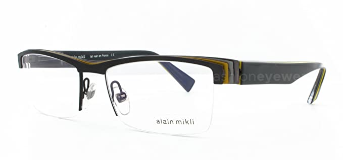 dc26cc89fb Image Unavailable. Image not available for. Colour  Alain Mikli A02001  Eyeglasses ...