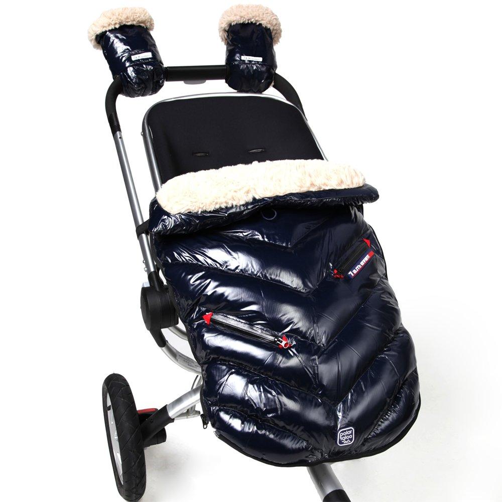 7AM Enfant Polar Igloo Baby Bunting Bag Adaptable for Strollers, Oxford Blue, Medium by 7AM Enfant (Image #2)