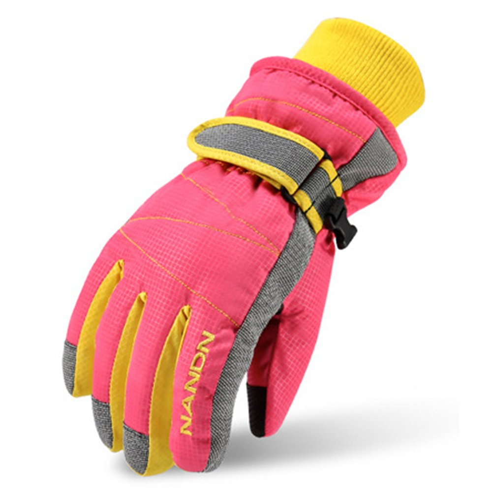 Magarrow Kids Winter Warm Windproof Outdoor Ski Gloves Cycling Gloves For Boys Girls and Adults