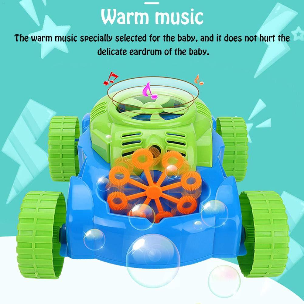 circulor Cortacésped Bubble, máquina de Burbujas para niños ...