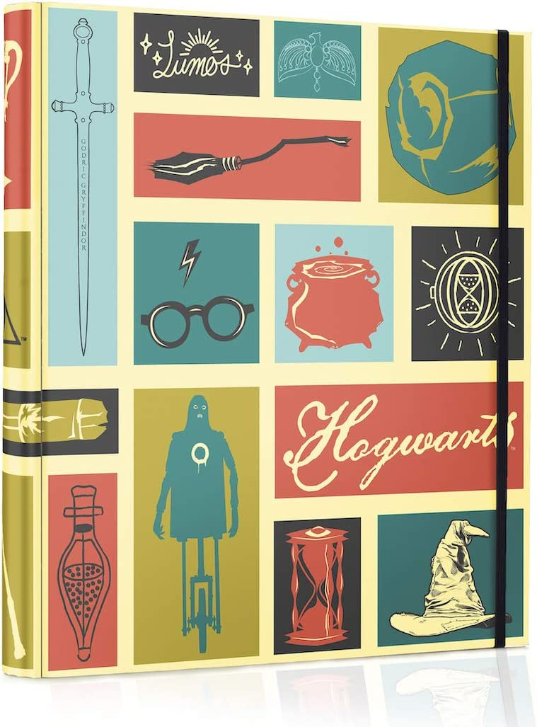 Conquest Journals Harry Potter Hogwarts Icons Binder