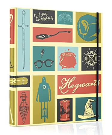Amazon.com: Conquest Journals Harry Potter Hogwarts Icons ...