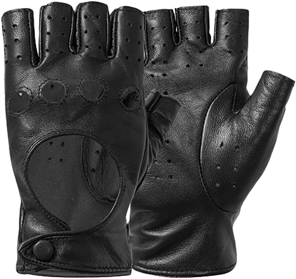 Half Finger Driving Gloves...
