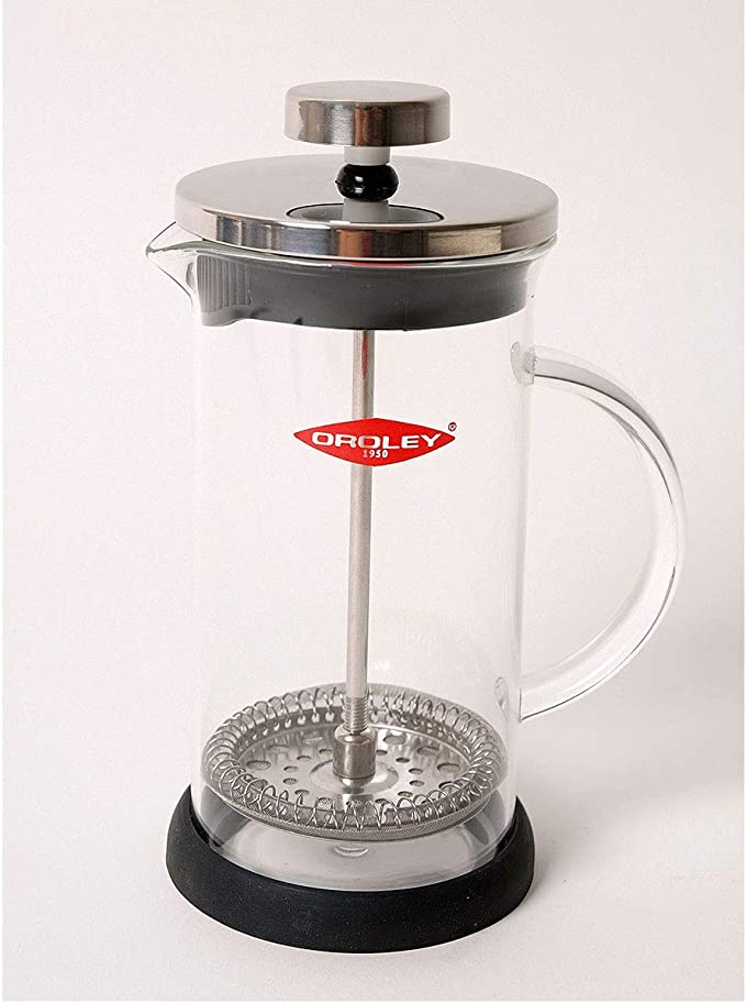 Oroley - Cafetera Francesa Spezia | de Émbolo | de Acero ...