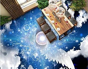 3d Fußboden Wolken ~ 200 cmx 140 cm 3d bodenbeläge angepasste engel flügel wolken 3d