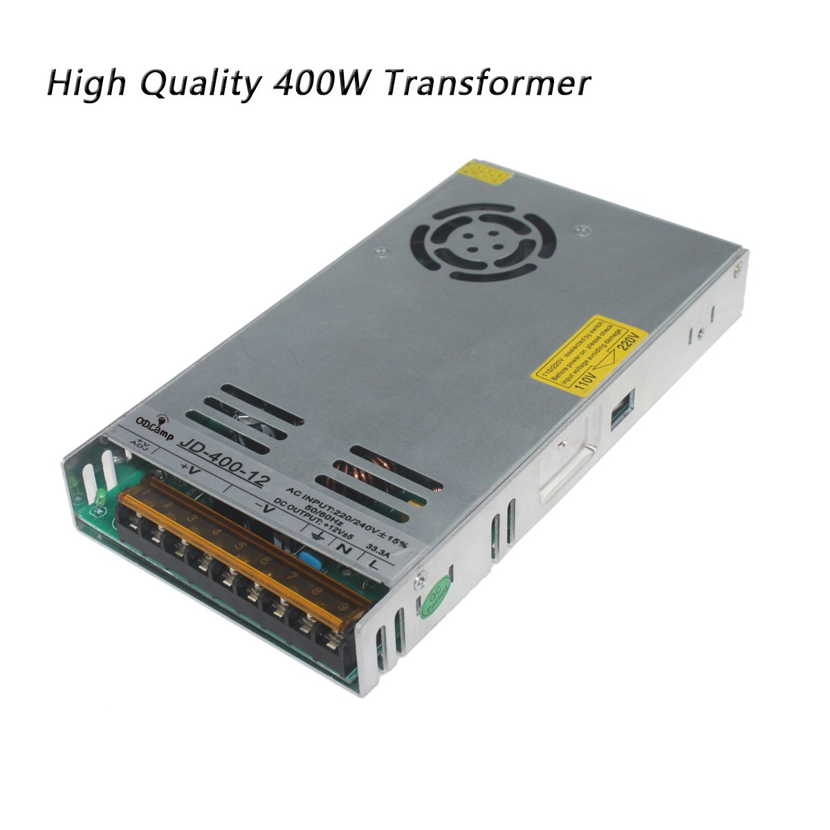 DC 12V 120W 250W 400W 500W Led Transformer Power Supply Driver Constant Voltage LED For Led Strip Led Module Lights (400W)
