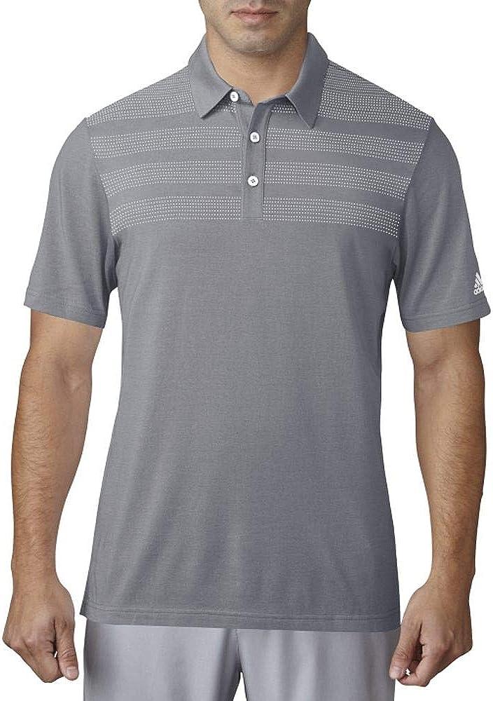 adidas Golf Men's 3-Stripes Mapped Polo