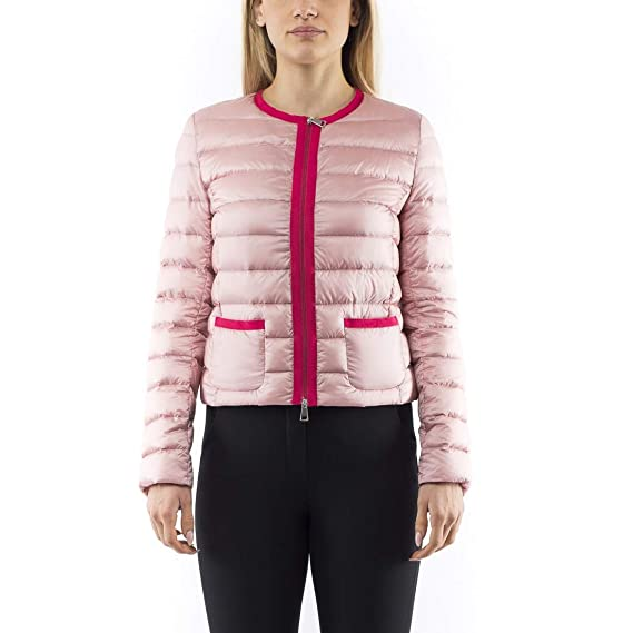 innovative design 76219 7b5e0 MONCLER CRISTALLETTE GIUBBOTTO - ROSA: Amazon.co.uk: Clothing