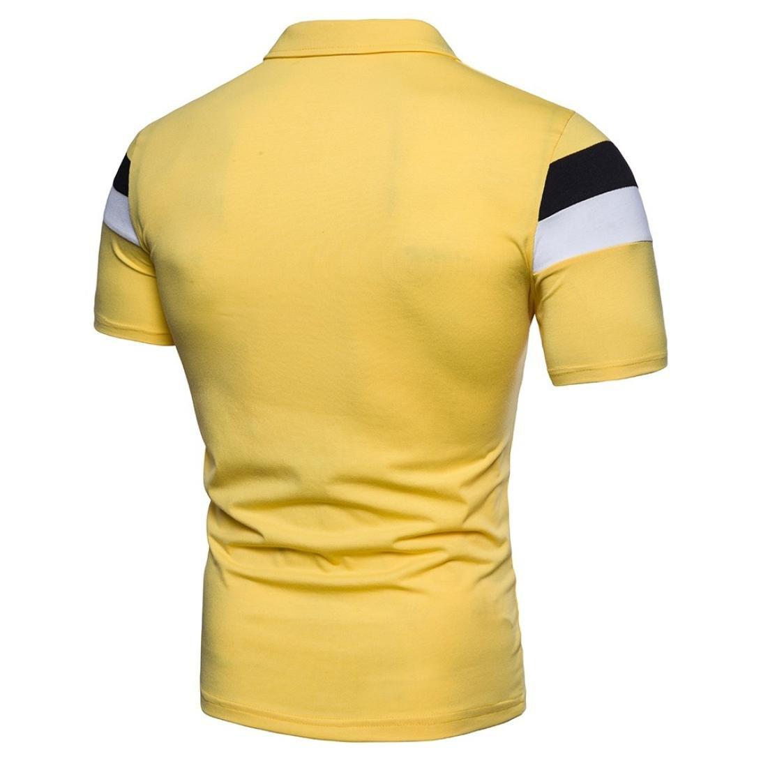 5f1dd1ac7 Wrogn Blue Mustard Yellow Striped Polo Slim T Shirt