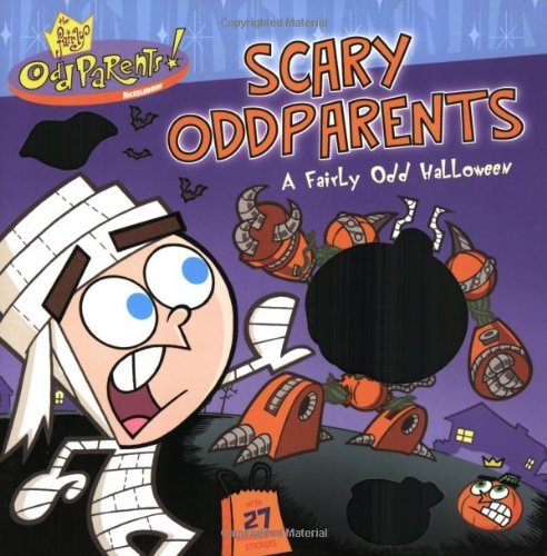 The Fairly OddParents! Scary OddParents: A Fairly Odd Halloween (Storybook with Foil Stickers)