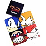 Sonic The Hedgehog Set Of 4 Coasters, Cork Backed
