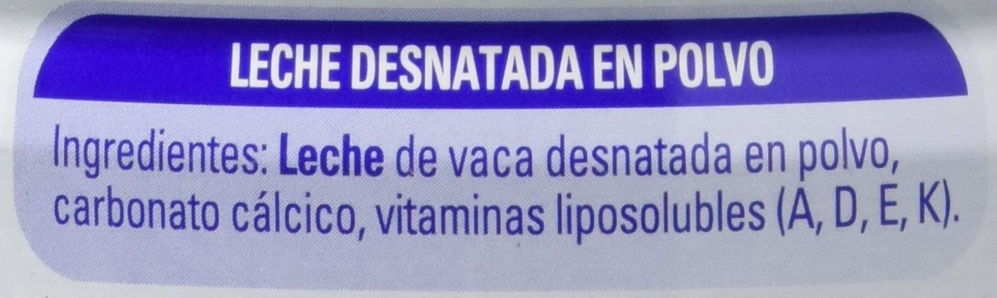 NESTLÉ SVELTESSE Leche en Polvo Desnatada Vitaminada Lata - Paquete de 1 kg - Total: 1 kg: Amazon.es: Amazon Pantry