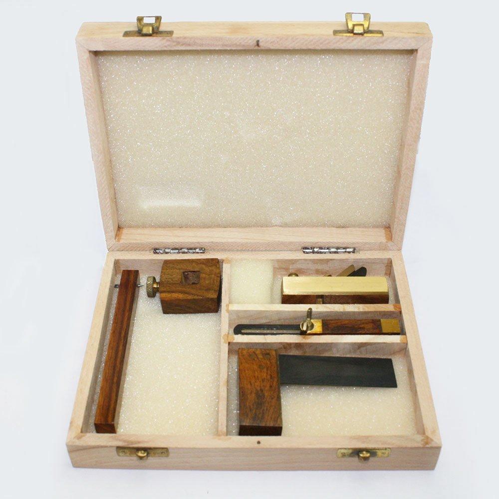 Kaufhof ATS-2240 Wood Working Tool Set Miniature 4 Piece replaces Big Horn 13301