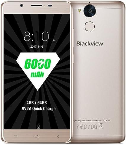 nbamask Blackview P2 6000 mAh Smartphone 5.5 pulgadas Octa Core ...
