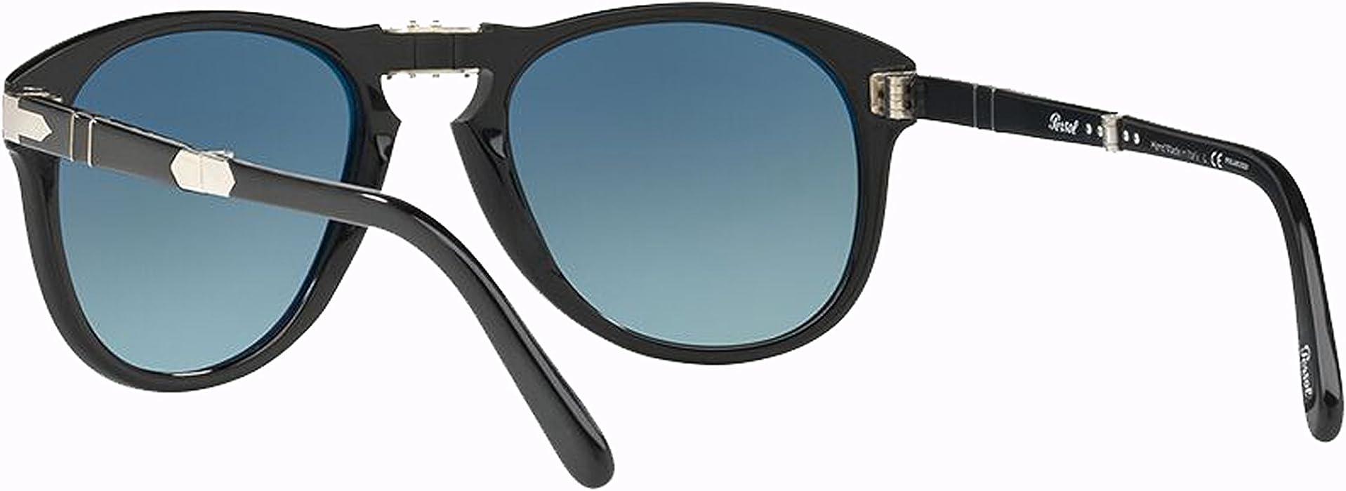 5f2cd6193363 Persol PO0714SM Steve McQueen sunglasses. Size 54. Color Black (95/S3).  Back. Double-tap to zoom