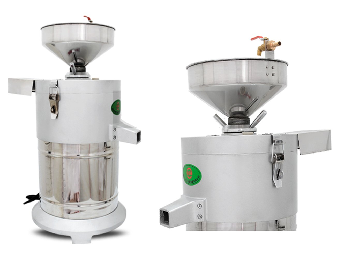 Commercial aluminum alloy Healthy Nutrition Soymilk Maker Commercial large Soymilk Maker Soybean Milk machine Electric fiberizer Automatic Soya Milk and Dregs separater Splitter 150kg/h by CGOLDENWALL (Image #2)