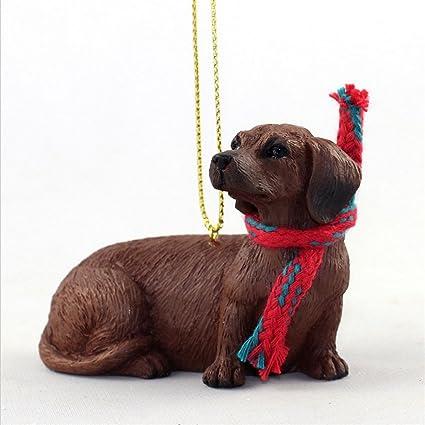 Amazoncom Ky Co Yeskela Dachshund Dog Christmas Ornament Scarf