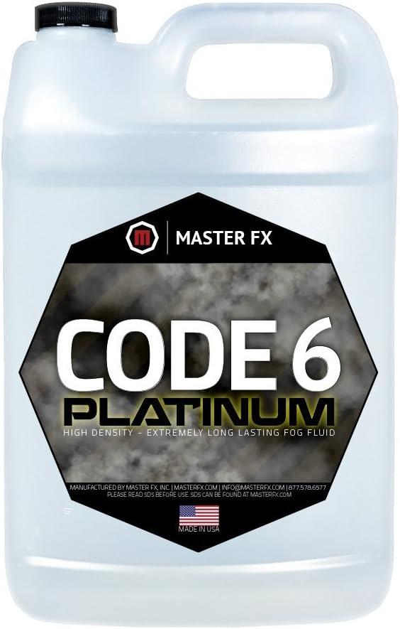 Code 6 Platinum Water Based