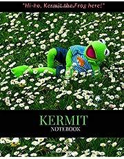 Kermit Notebook: Lined Composition Kermit Notebook