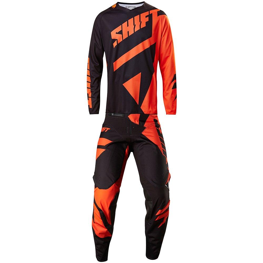 Shift MX 2017 Black Label Mainline Orange Jersey/ Pant Combo - Size X-LARGE/ 34W