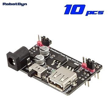 robotdyn – 10 pcs – Placa de pruebas módulo fuente de alimentación 5 V/3.3