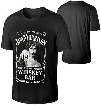 Jim Morrison-Whiskey Bar Heavy Cotton T-Shirt gildan reprint