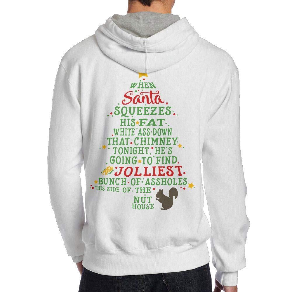JHDKDGH-N Jolliest Bunch A-Holes Back Print Long Sleeve Sweater Men