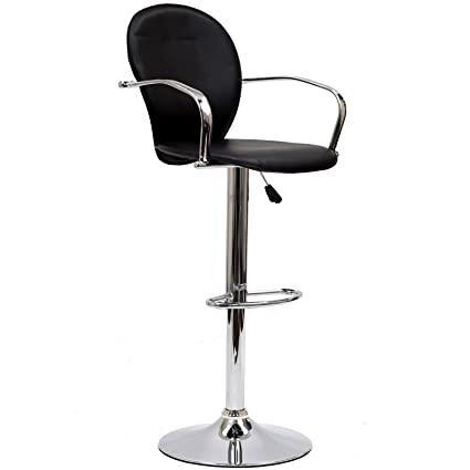 Modway Captain Bar Stool In Black